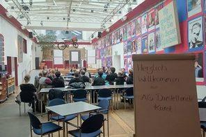 Arbeitsgruppe Darstellende Kunst © Landeshauptstadt Mainz