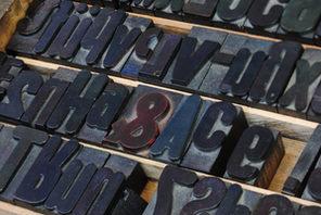 Setzkasten in der Druckerei © Carsten Costard