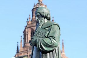 Gutenberg-Denkmal von Bertel Thorvaldsen © Kristina Schäfer