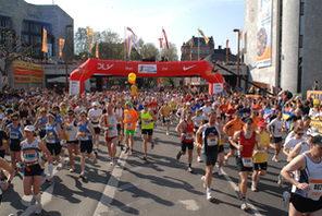 Start des Mainzer Gutenberg Marathons © Landeshauptstadt Mainz