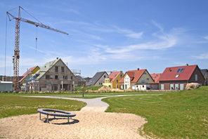 Neubausiedlung © Foto: © Kaarsten - Fotolia.com