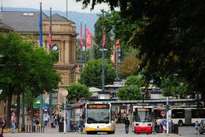 Mainzer Hauptbahnhof © Landeshauptstadt Mainz