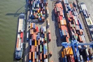 Mainzer Containerhafen © Landeshauptstadt Mainz